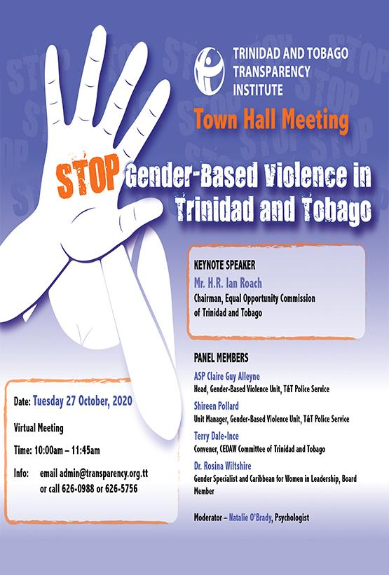Trinidad and Tobago Transparency Institute Town Hall Meeting